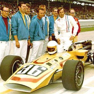 Indy Qualifying photo May 1970