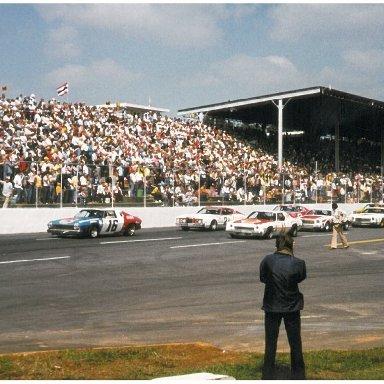 Parade Lap Martinsville, VA Sept. 1975