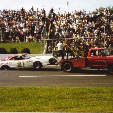 Pearson on the hook  Martinsville, VA 1975