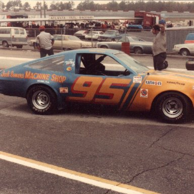 1982 Olds Starfire Dash car @ Atlanta 1983