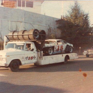 Bugs Stevens #15 mod @ Martinsville '74