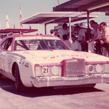 Pearson Mercury Daytona 1974
