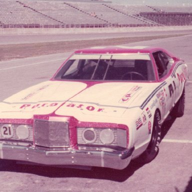 David Pearson Purolator Mercury-Daytona '74