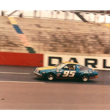 Tom Knox-Olds Dash car Darlington '82