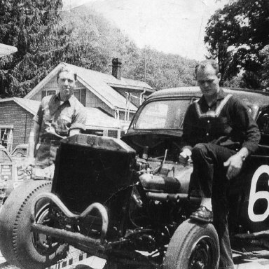 First Car Rene Charland drove? Bud Peck And Bruce Hansell Owned