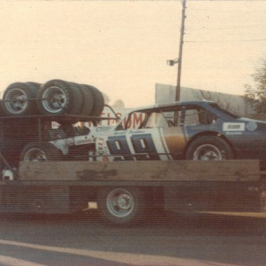 Geoff Bodine #99 modified Martinsville Oct '74