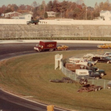 Lenny Pond #54 Chevelle/Martinsville '74