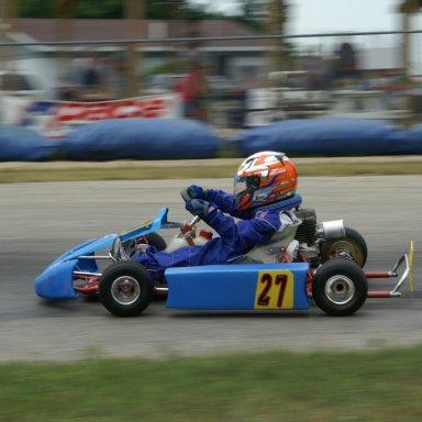 Brendan Arms  in race 01