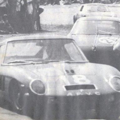 Rio de Janeiro 1965 - C. Christofaro - Ferrari 250 GT (Drogo bodied)