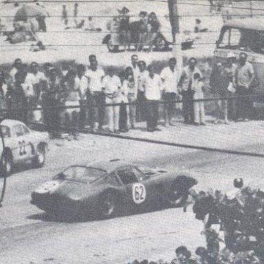 Rio de Janeiro 1965 - Alpine #22 and Simca Prototype #62