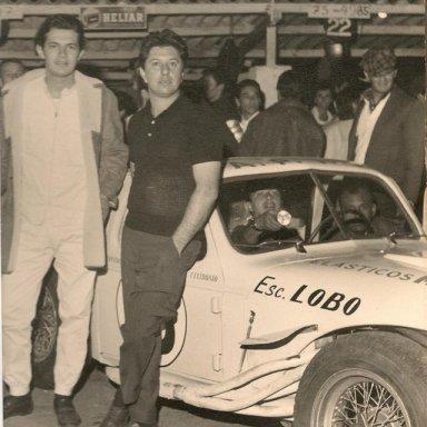 E.Celidonio and C.Christofaro - 1966 Mil Milhas Brasileiras Winners - before the race