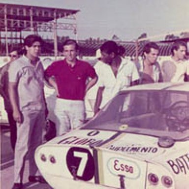 1966- Rio de Janeiro - Emerson 'Emmo' Fittipaldi - Malzoni GT (DKW 2 stroke engine)
