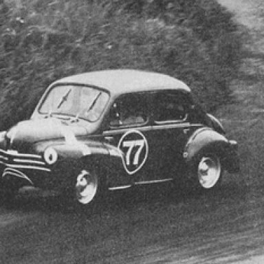 Emerson 'Emmo' Fittipaldi - Renault 4CV - mid 60's