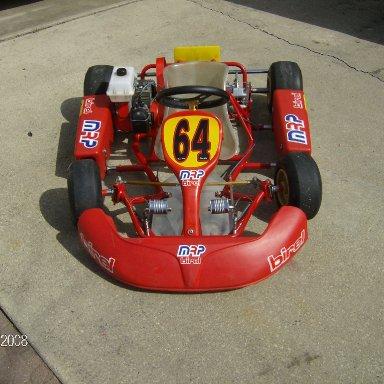 my new kart 2008