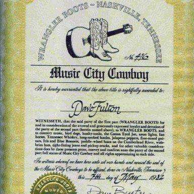 Music City Cowboy