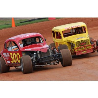 Racing Action Historic Cleveland County Fairgounds Speedway