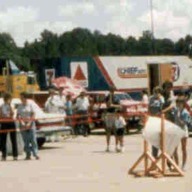 NASCAR Day - Wilson, NC - 1985