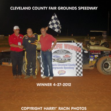 HCCFS Winner Dennis Williams