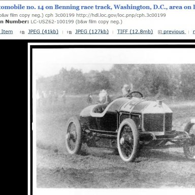 Benning Race track Washington, D.C. 1915