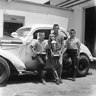 Robert,  JR and Jack Jr.