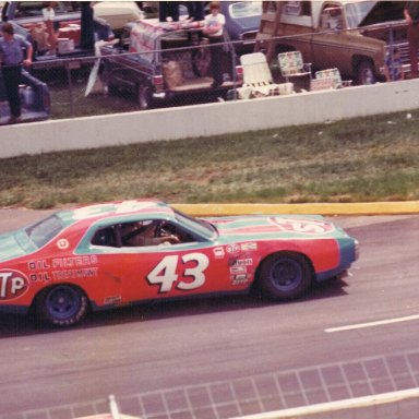 Petty at Martinsville