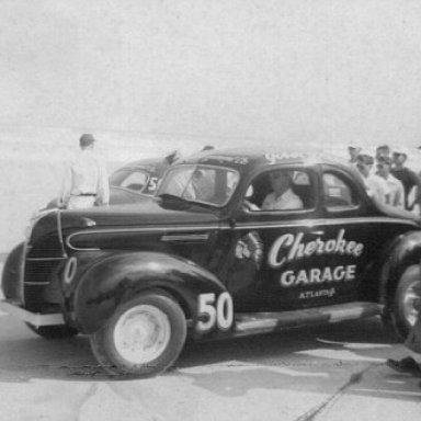 Gober Sosebee 1949 Daytona Pits