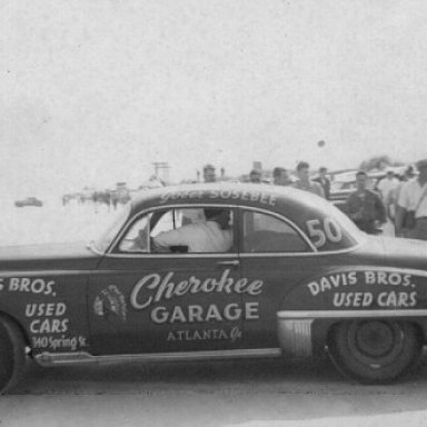 Gober Sosebee Oldsmobile - Early 50's in Daytona Pits