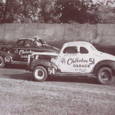 Cherokee Garage Cars - Gober Sosebee and Jerry Wimbish