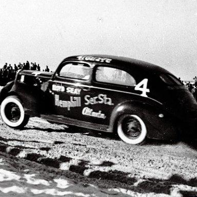 Lloyd Seay at Daytona - 1940