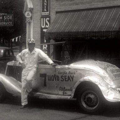 Raymond Parks' first race car