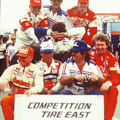 Tire Test at Pocono - 1985