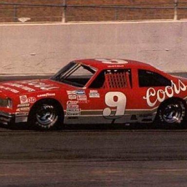 Bill Elliott's Buick in Busch Grand National Series - 1987