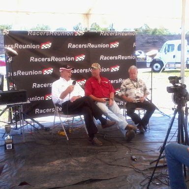 Harold Fountain,Larry Smith,  and Rex White ar MGR 2012 reunion