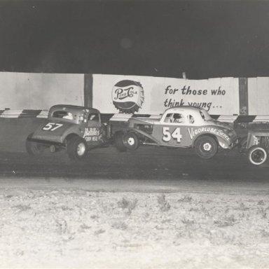 Mel Sosebee at Dixie Speedway