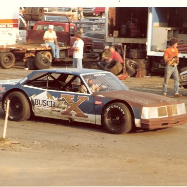 Pete Silva at Hickory early 1980's
