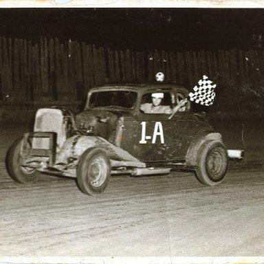 Dinwiddie Speedway Win 5-14-1954