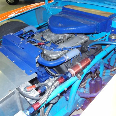 1972 Dodge Charger engine