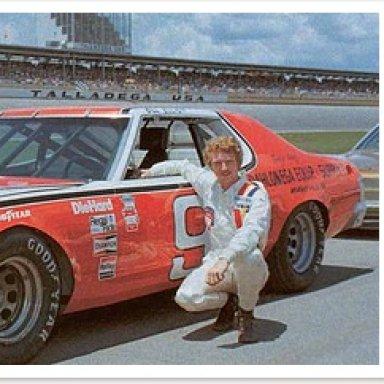 Bill Elliott 1977 Mercury Montego