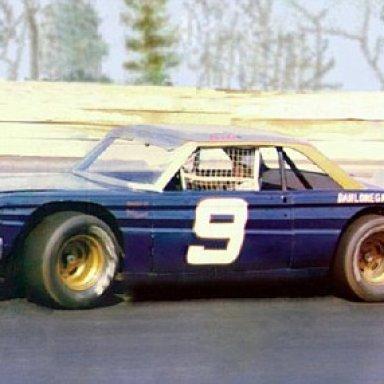Bill Elliott's 64 Falcon at Dixie Speedway.