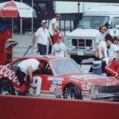 Bill Elliott's 1986 Buick Busch Grand National Car