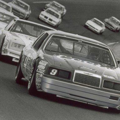 Bill Elliott Leading the way - 1984