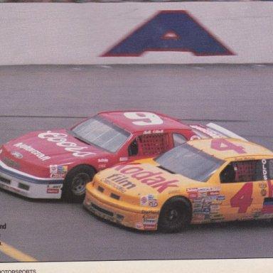 1988 Firecracker 400 - Elliott Edges Wilson