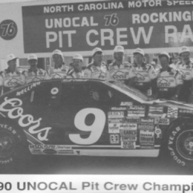 Elliott/Melling Racing - 1990 Pit Crew Champions