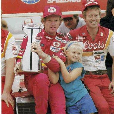 Bill Elliott - 1984 Charlotte Fall Winner