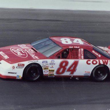 Bill Elliott - 1991 Busch Car