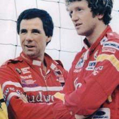Bill Elliott and Darrell Waltrip