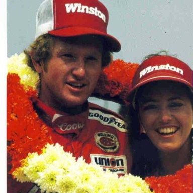 Bill Elliott and Miss Winston