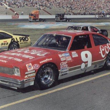 Bill Elliott's 1987 Coors Grand National Buick - Charlotte