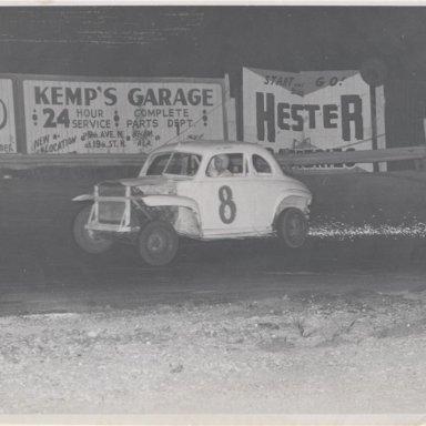 Mel Sosebee at Dixie Speedway Midfield Alabama
