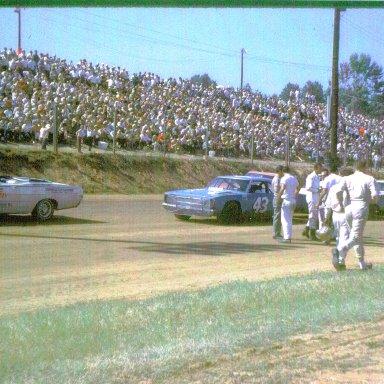 Final Race at Occoneechee Speedway Sept. 1968
